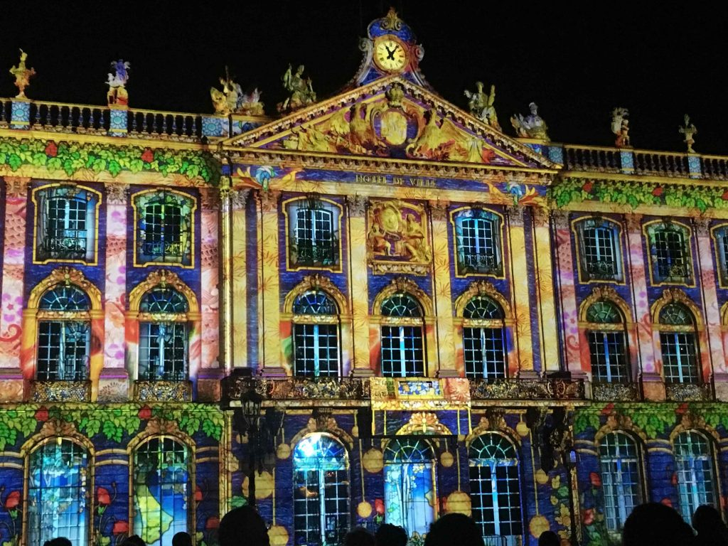 The light show of Nancy, France 2